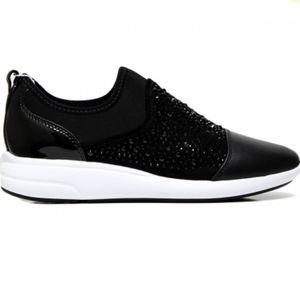 Geox Theragon slip on rhinestone comfort sneakers
